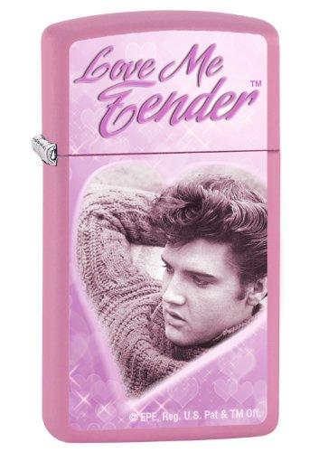 Elvis Love Me Tender Slim Pink Matte