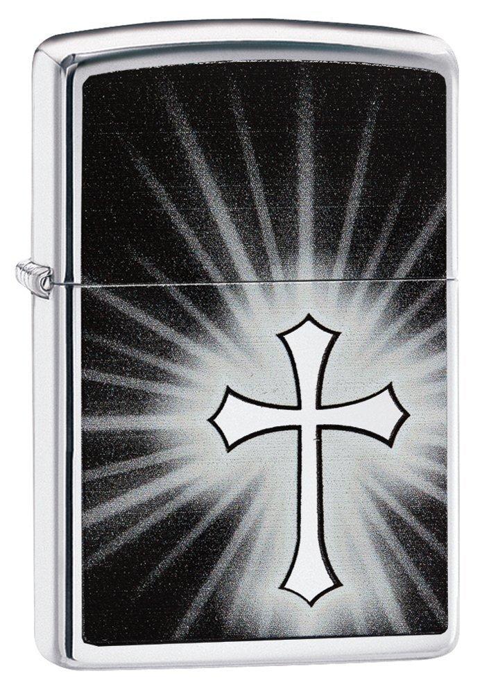 Zippo Reflective Cross Design