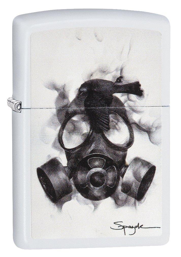 Zippo Spazuk Skull Design Pocket Lighter