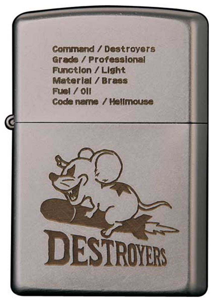 Zippo DESTROYERS 2OF-HELLMOUSE