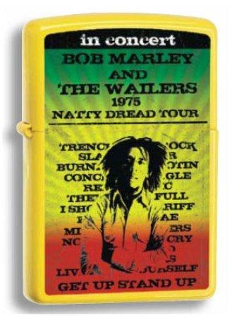 Zippo Lighter Bob Marley, Leamon Matte