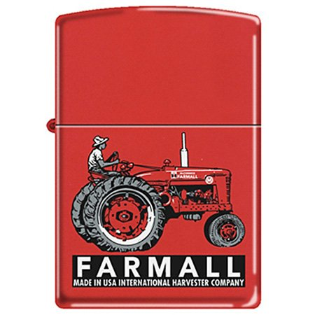 Farmall Super M Red Antique Tractor Zippo Lighter