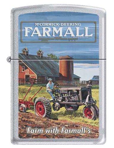 Farmall McCormick-Deering Antique Tractor Zippo Lighter