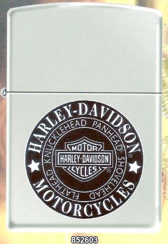 Harley Davidson Motorcycle Knucklehead Custom Zippo Lighter