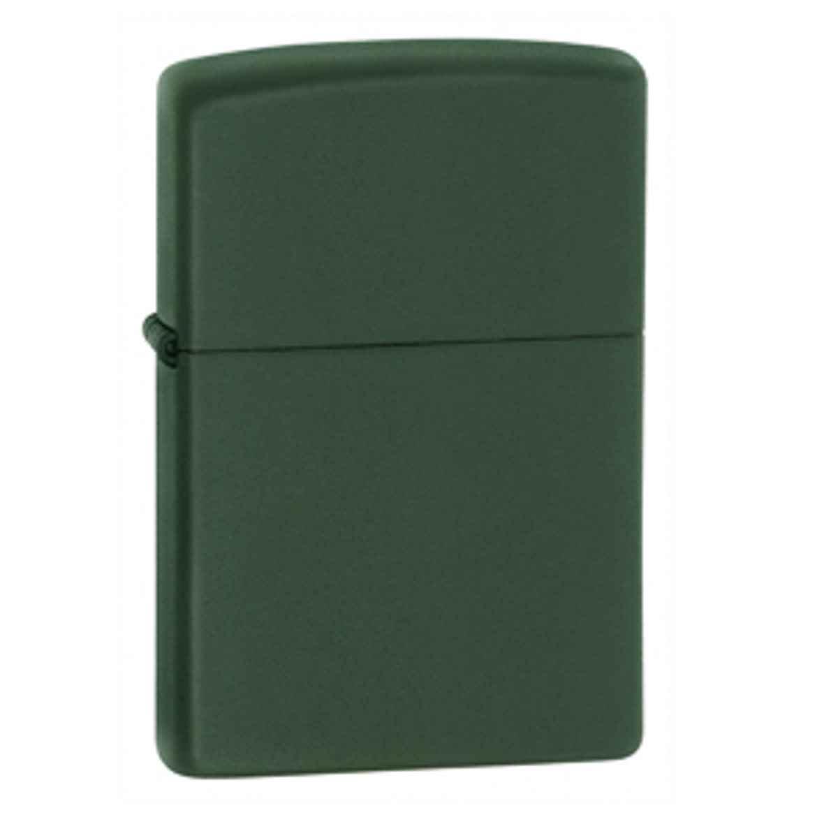 Zippo Lighter – Green Matte