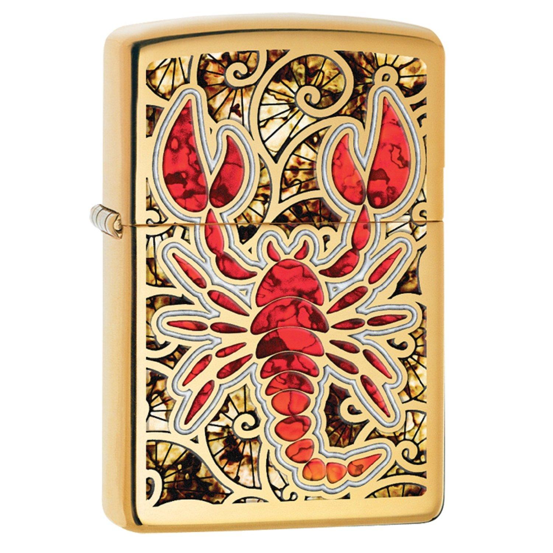 Zippo Scorpion Shell Pocket Lighter 29096 – 29096