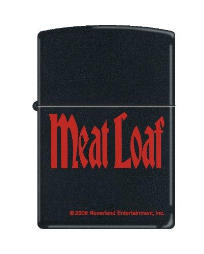 Zippo Meat Loaf Black Matte Lighter