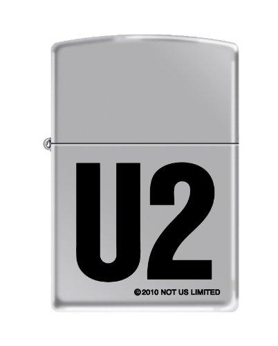 Zippo U2 High Polish Chrome Lighter