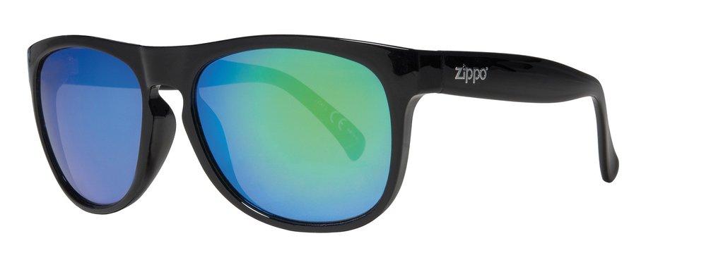 Oversized Green Multicoating Sunglasses
