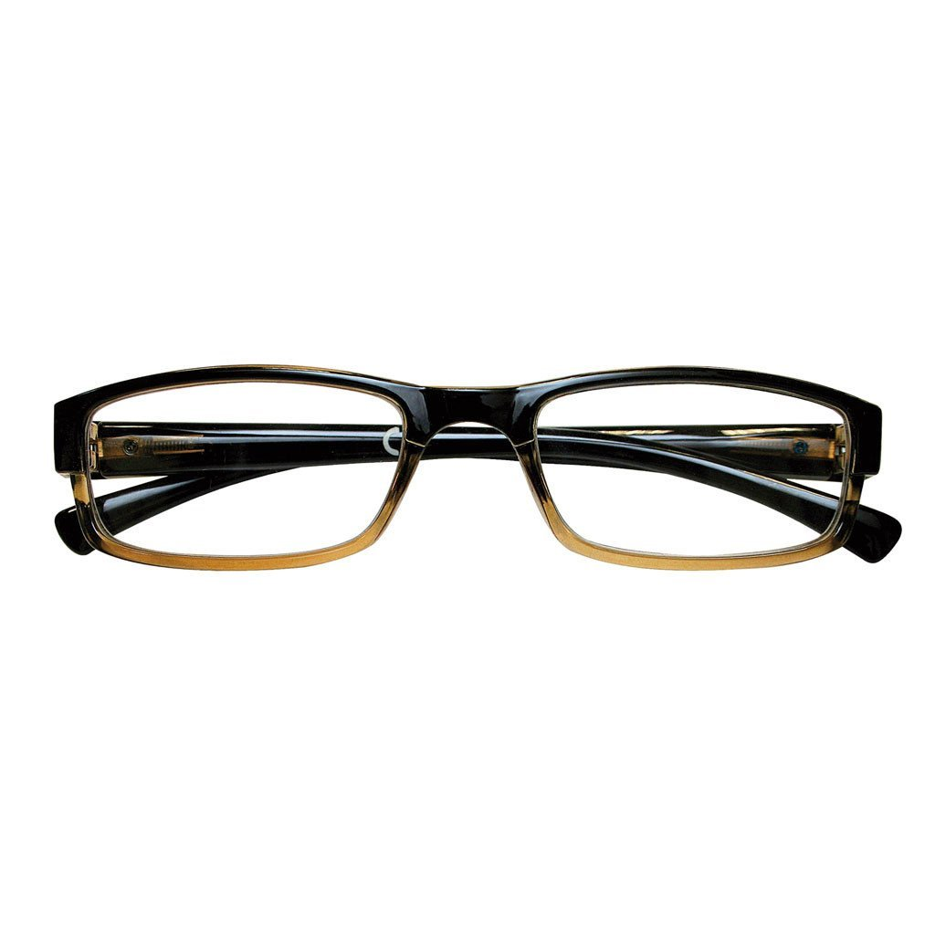 Brown Rectangular Readers ( +2.50 )