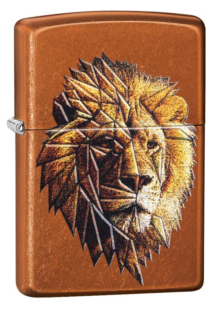 Polygonal Lion Design