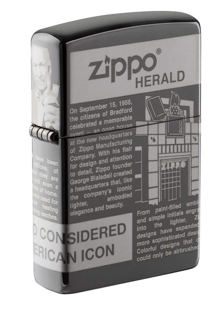 Zippo Newsprint Design