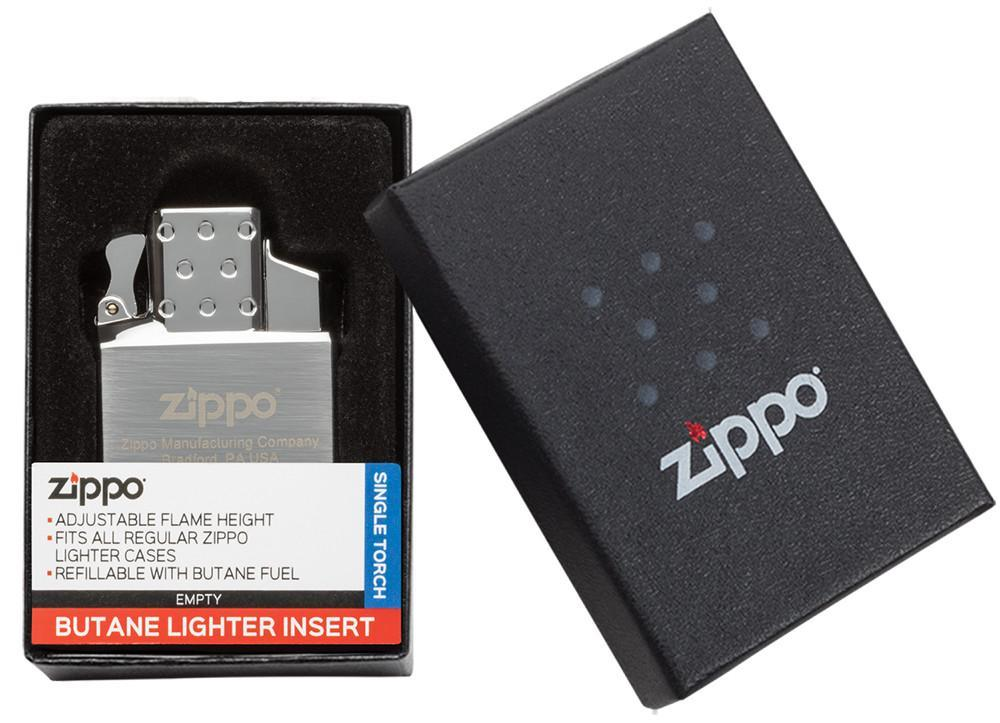 Ruột Zippo sử dụng Ga Butane Lighter Insert – Single Torch