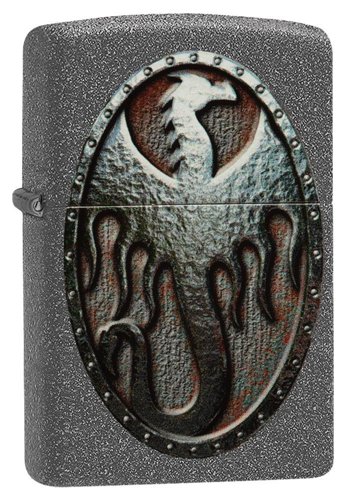 Metal Dragon Shield Design