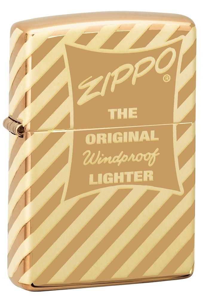 Vintage Zippo Box Top