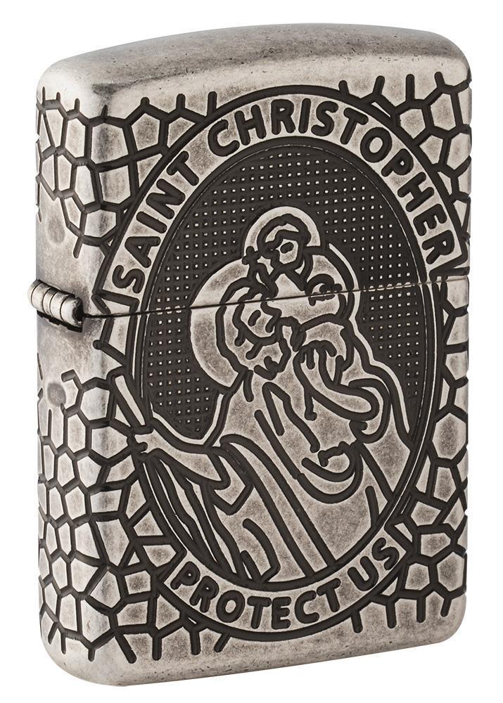 Armor® St. Christopher Medal Design