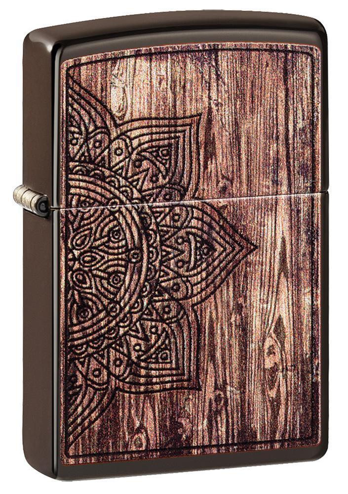 Wood Mandala Design