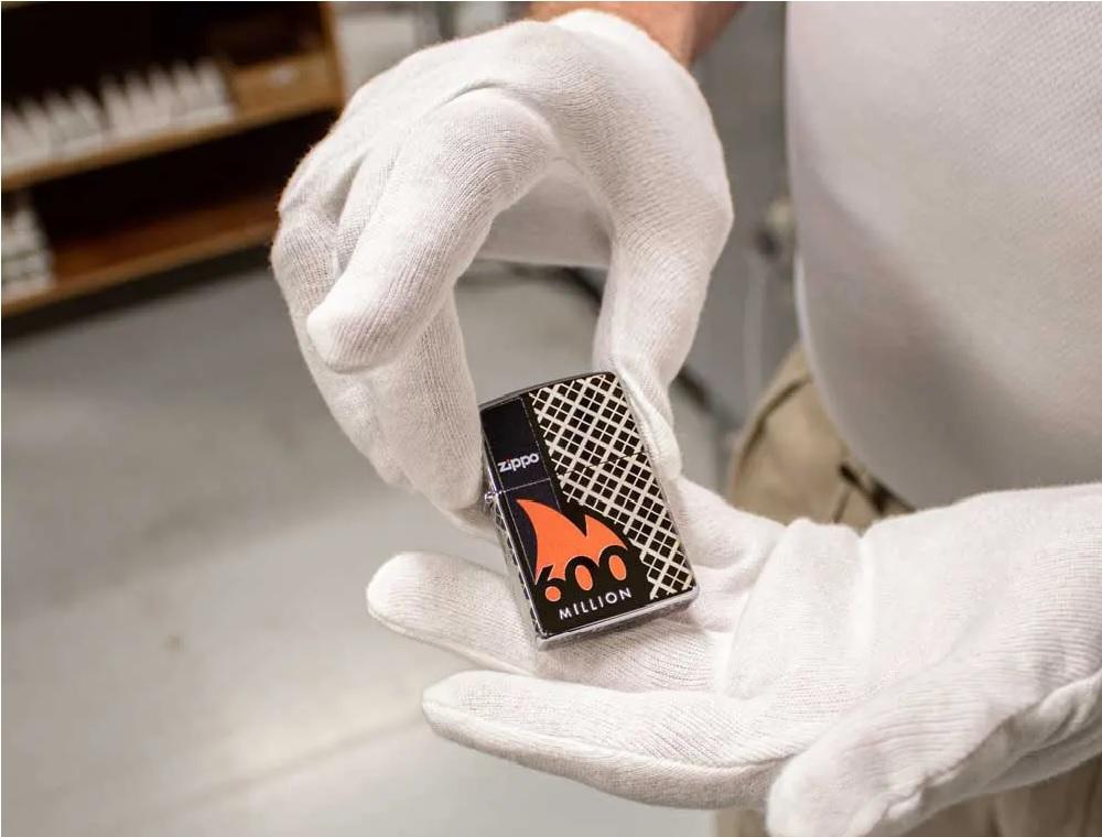 600 Millionth Zippo Lighter Collectible
