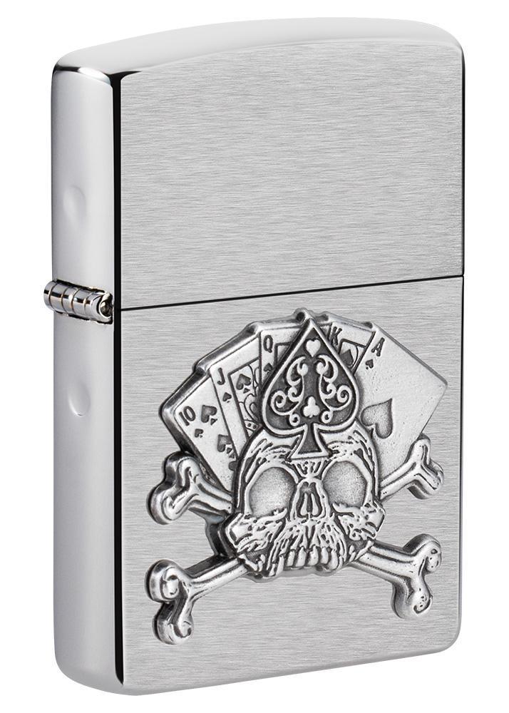 Card Skull Emblem Design