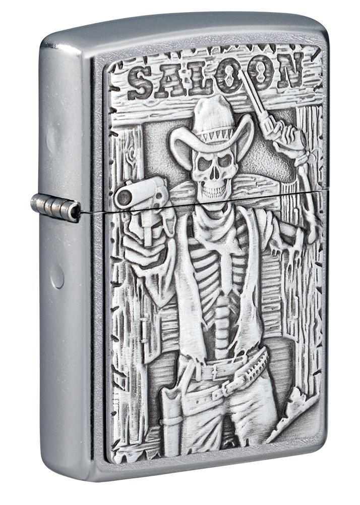 Saloon Skull Emblem Design