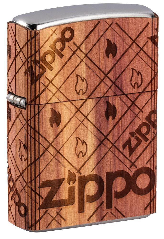 WOODCHUCK USA Zippo Cedar Wrap