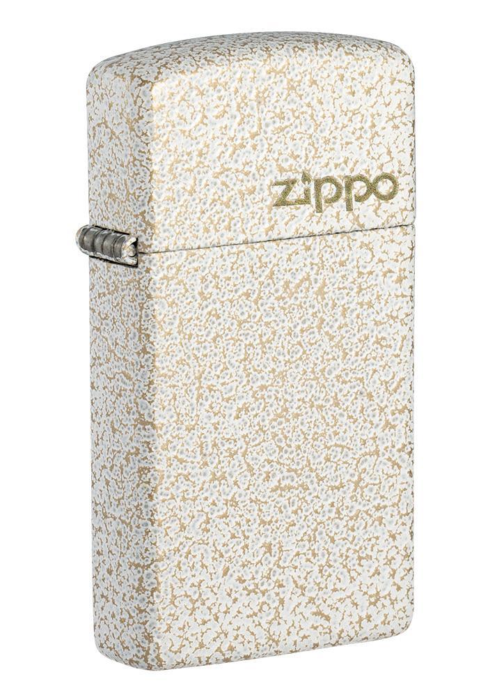 Slim® Mercury Glass Zippo Logo