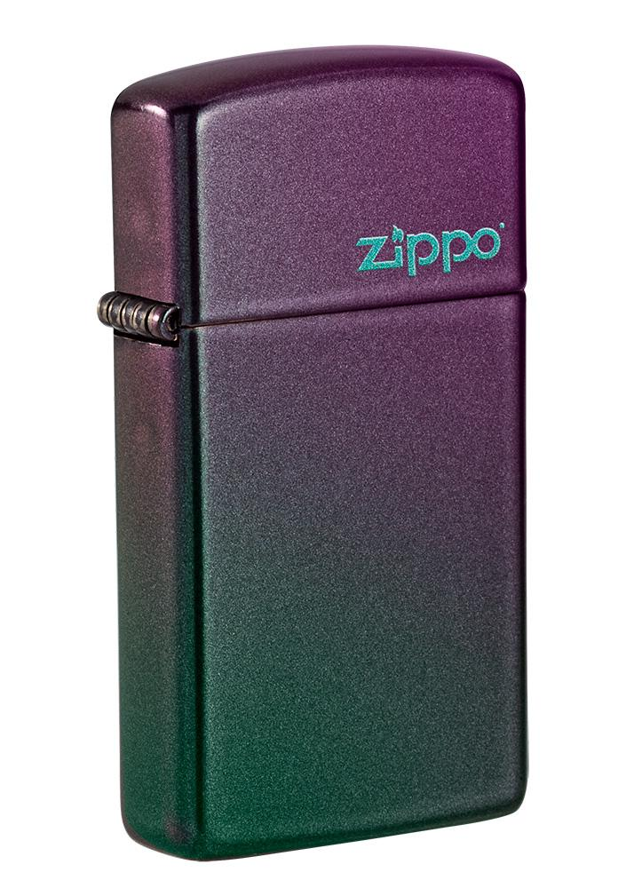 Slim® Iridescent Zippo Logo